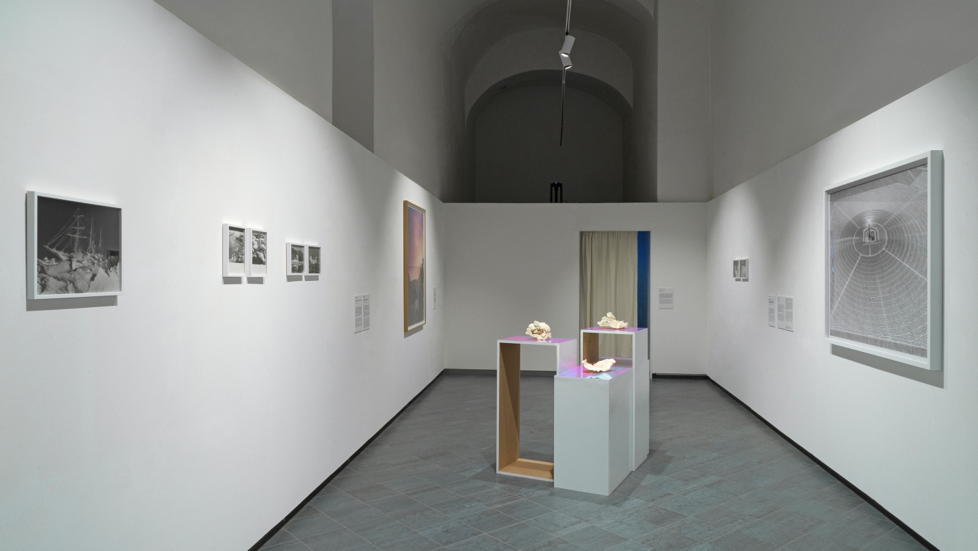 4Post-Water. Exhibition view at Museo Nazionale della Montagna 2018 Museo Nazionale della Montagna CAI Torino 2